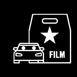 pkw-VIP-film-weiß