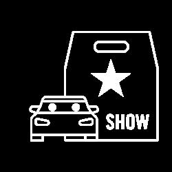 pkw-VIP-show-weiß
